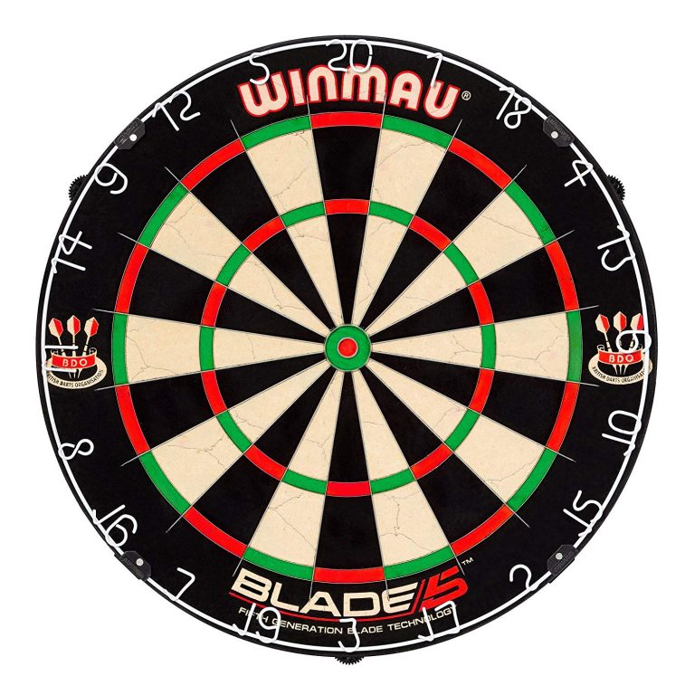 Winmau Blade 5 Bristle Dartboard Review
